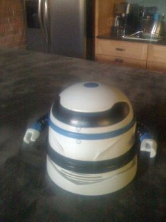 Go Vacuum Robot, Go!